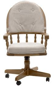 casual dining chairs with casters: intercon classic oak game chair with casters