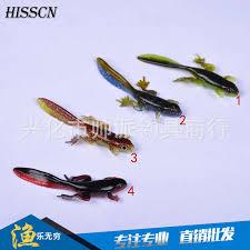 10pcs 40mm 6g soft frog