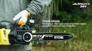 <b>Ryobi</b> 36V Brushless Chainsaw - RCS36X3550HI - YouTube
