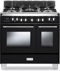 black appliance matte seamless kitchen: verona classic series vclfsgede matte black