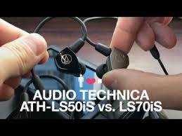 <b>Audio Technica ATH</b>-LS50iS vs. <b>ATH</b>-LS70iS Comparison