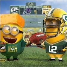Minion Packers! via Green Bay Packers Memes on Facebook | *makes ... via Relatably.com