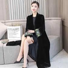 <b>woman</b> Autumn and winter <b>national costume</b> set velvet cheongsam ...