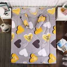 Sofa Lazy Quilt with Sleeves Winter Warm Thick Comforter Quilt ...