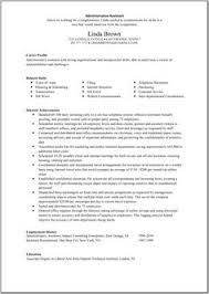 resume summary administrative assistant   administrative    great administrative assistant resumes   administrative assistant resume