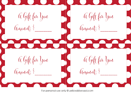 gorgeous gift card holders that cost  fill in the gift amount
