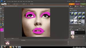 adding lipstick n 39 make up using adobe photo elements 7