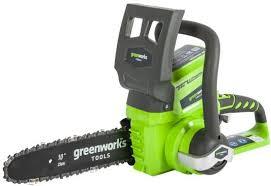 Электрическая цепная пила <b>Greenworks</b> GD24CSK2 дл.шин.:10 ...