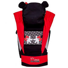 "<b>Рюкзак</b>-<b>кенгуру Polini kids Disney</b> baby ""Минни Маус"", с вышивкой ..."