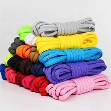 <b>1 Pairs Rainbow</b> Shoelaces <b>Round</b> Elastic Shoe laces Fashion ...