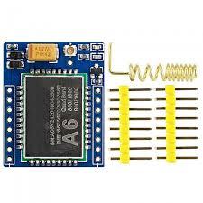 GA6 Mini GPRS/GSM Module A6 SMS/Voice Development Board ...