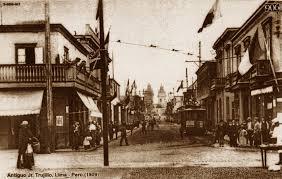Resultado de imagen para Fotografias antiguas de Lima