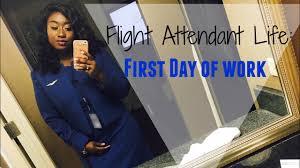 flight attendant life first day of work flight attendant life first day of work