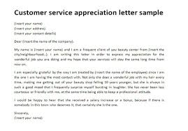 Customer service appreciation letter   Customer thank you letter Just Letter Templates