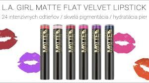 <b>Matte Flat Velvet</b> Lipstick L.A.Girl - YouTube