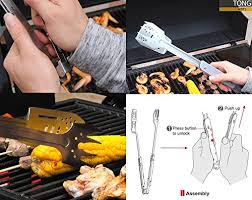 <b>Folding</b> BBQ <b>Tool</b> Stainless Steel <b>Folding</b> Grill <b>Tool</b> for <b>Outdoor</b> BBQ ...