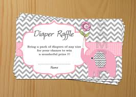 tickets elephant baby shower diaper raffle ticket diaper raffle card diapers raffles printable digital files baby shower games 50