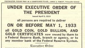 「On August 14, 1974, Congress votes to allow US citizens to buy and sell gold(HISTORY)」の画像検索結果