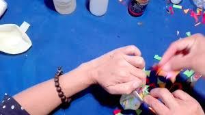 Cómo pegar el <b>confeti</b> en un <b>globo</b> - YouTube
