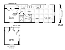 Small Picture floor plans for small mobile homes Floor PlanThe Horizon