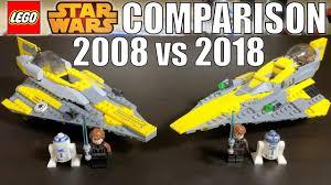 <b>LEGO Star Wars</b> Anakin's Jedi Starfighter Comparison! 2008 VS ...
