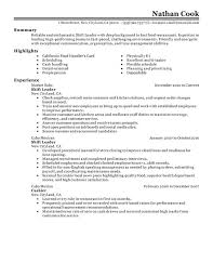 resume for retail retail cashier resume example page  fast food    fast