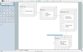 uml deployment diagram   professional uml drawinguml deployment diagram template