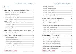 setting smart goals templates examples worksheets smart goals guide