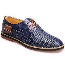 <b>FOSCO</b> Blucher Grabado Piel <b>Fosco</b> Azul Marino | Men`s Shoes в ...