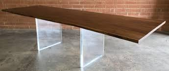 lucite acrylic furniture interesting clear acrylic lucite boomerang or v shaped dining nice rustic brown varnished acrylic legs for furniture