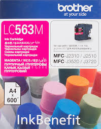 Купить <b>Картридж BROTHER</b> LC563M, пурпурный в интернет ...