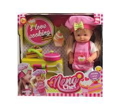 <b>Кукла NENA</b>, тм <b>Dimian</b>, <b>шеф</b>-<b>повар</b>, 36 см Купить в интернет ...