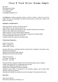 truck driving job description for resume class b sample dump truck driver job description
