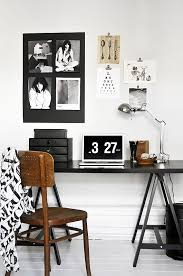 black and white home office inspiration 4 black white home office cococozy 5