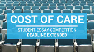 cost of care essay competition  deadline extended  md consultants cost of care essay competition  deadline extended