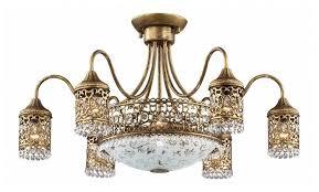 <b>Люстра</b> Odeon light <b>Salona 2641</b>/<b>9C</b>, E14, 360 Вт — купить по ...