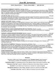 resume sample healthcare medical  gifhospital volunteer resume example