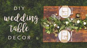 <b>DIY WEDDING TABLE</b> DECOR *SWOONS* - YouTube