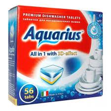 <b>Таблетки</b> для посудомоечных машин <b>Aquarius</b> All in 1 (mega) 56 шт