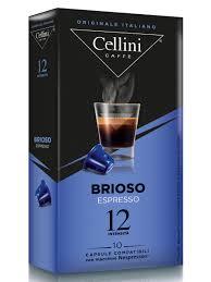 Кофе в капсулах системы Nespresso <b>CELLINI BRIOSO</b>