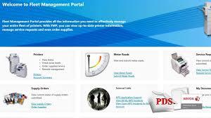professional document solutions fleet management portal fmp