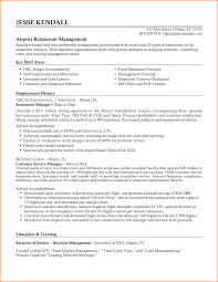 resume for restaurant manager paradochart related for 5 resume for restaurant manager