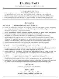 event coordinator resume sample  we are happy to provide this      event coordinator resume sample