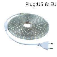 <b>SMD 5050 AC</b> 220V Led Strip Flexible Light 1M/2M/3M/4M/5M/6M ...