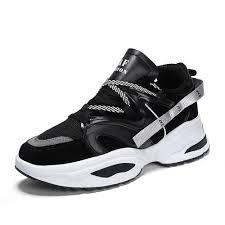 <b>Fashion Mens Fashion</b> Sneakers <b>Sports</b> Running Shoes Black ...