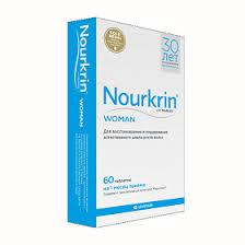 <b>Нуркрин</b> (<b>Nourkrin</b>) таблетки для <b>женщин</b>, 60 шт. - купить, цена и ...
