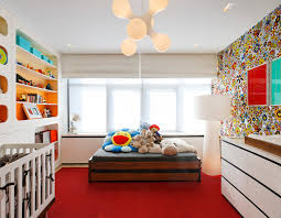 kids room inspiration for a mid sized contemporary gender neutral nursery remodel in new york with cado modern furniture wing