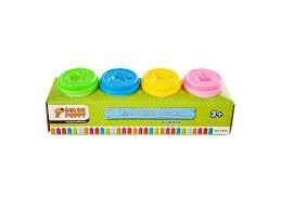 <b>Тесто для</b> лепки <b>Color Puppy</b> 4 цвета, 224 г - купить в детском ...