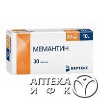 <b>Мемантин</b>, тбл п/пл/о <b>10мг</b> №<b>30</b>. Цены, описание и отзывы о ...