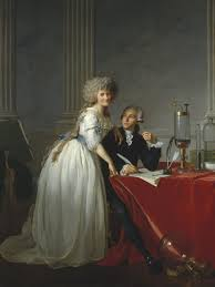 jacques louis david portrait of antoine laurent lavoisier and his wife 1788 metropolitan museum of art new york